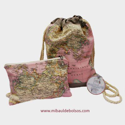 Conjunto-de-mochila-y-estuche-Colección-Mapamundi