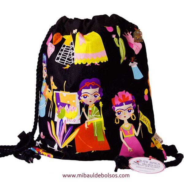 Mochila-Frida-Kahlo