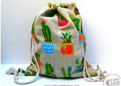 Mochila cactus