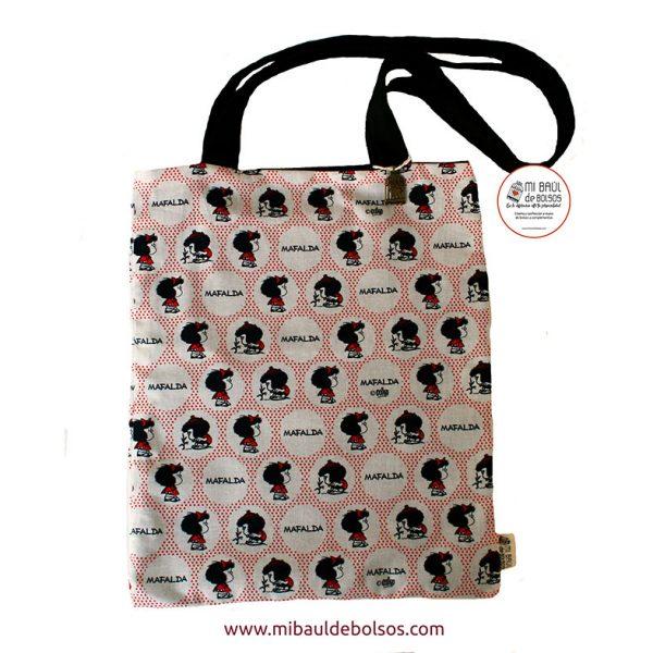 Tote-Bag-Mafalda-lunares-rojos