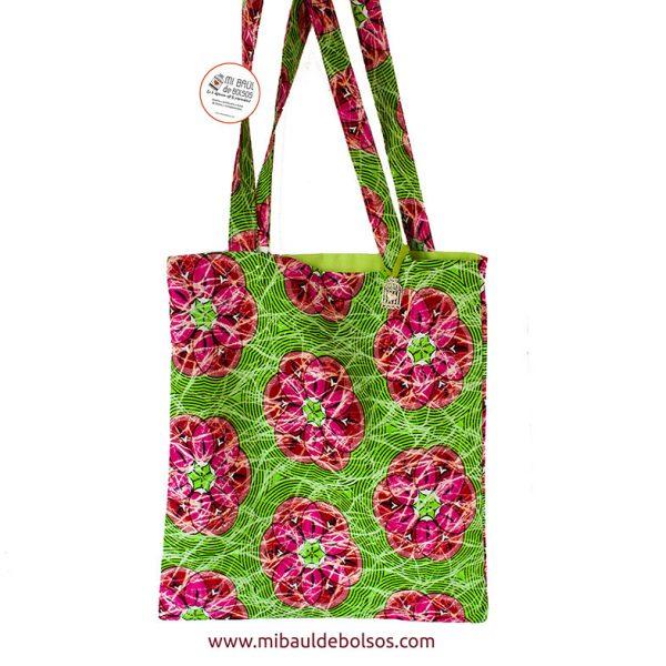 Tote-Bag-africana-flores-verdes